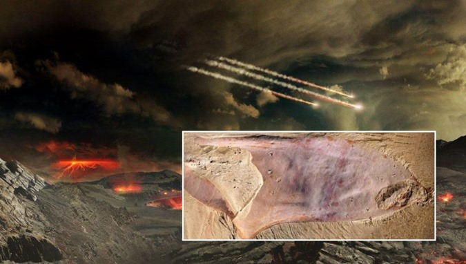 Arqueólogos descobrem um fóssil de aparência alienígena na China