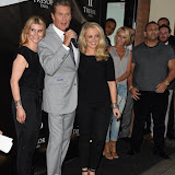 OIC - ENTSIMAGES.COM - Kim Tiddy, David Hasselhoff and Stephanie Webber  at the Tresor Paris - store launch party in London 16th June 2015  Photo Mobis Photos/OIC 0203 174 1069
