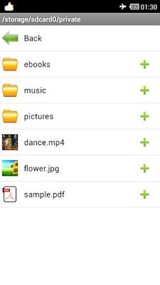 cách ẩn file trên Android với File Hide Expert