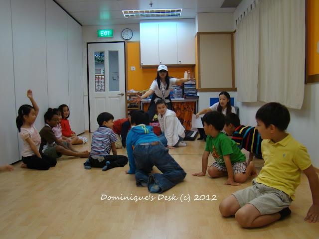 teacher play acting