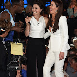 OIC - ENTSIMAGES.COM - Brian Belo, Emma Willis and Helen Wood at the Big Brother 2015 - fifth eviction London June 12th 2015  Photo Mobis Photos/OIC 0203 174 1069