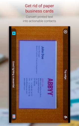 Business Card Reader Pro - Business Card Scanner  screenshots 11
