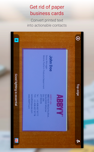 Business Card Reader Pro Business Card Scanner On Google Play