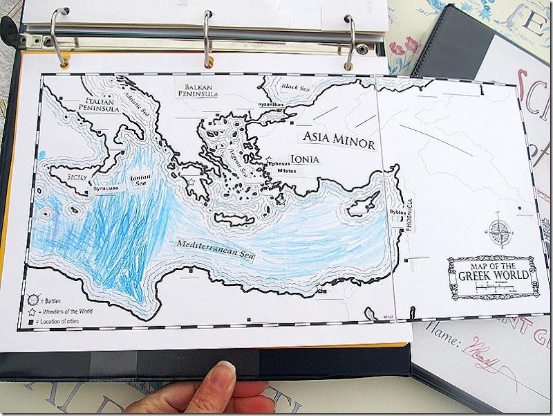 Project Passport Ancient Greece Map 2