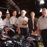 2009 Harley Davidson Cross Bones Bike Giveaway at Quaker Steak and Lube