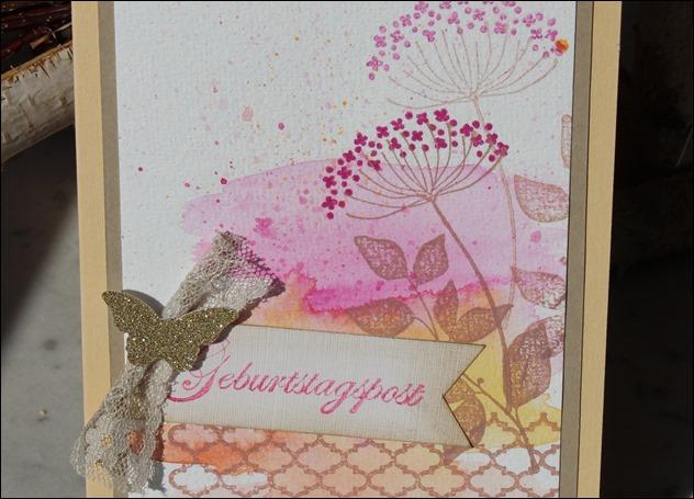 Grußkarte Stampin Up Geburtstag Glückwunsch 00