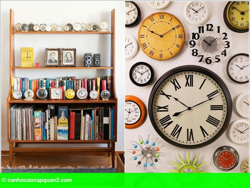 Hình 9: Cách bày những bộ sưu tập độc đáo của bạn