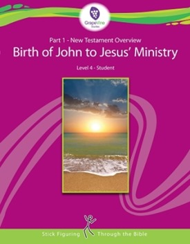 Part 1 New Testament Overview Birth of John to Jesus Ministry Level 4