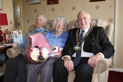 Couple celebrate 65th anniversary