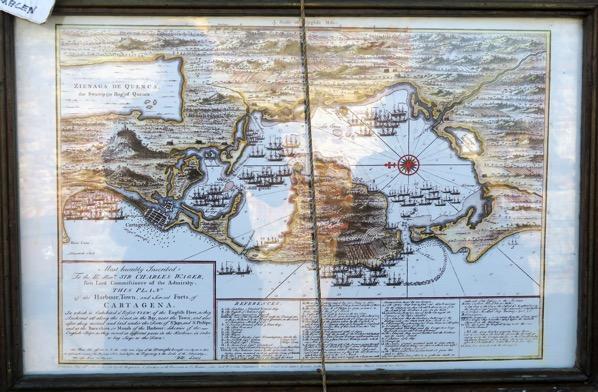 Cartagena Old Map 001