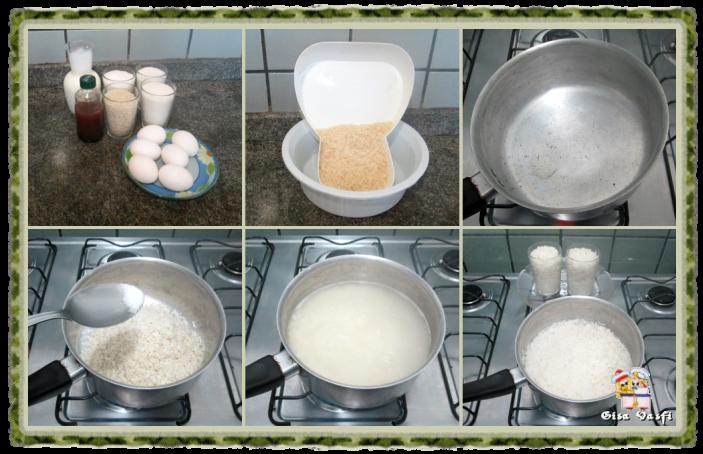 Pudim de arroz 5