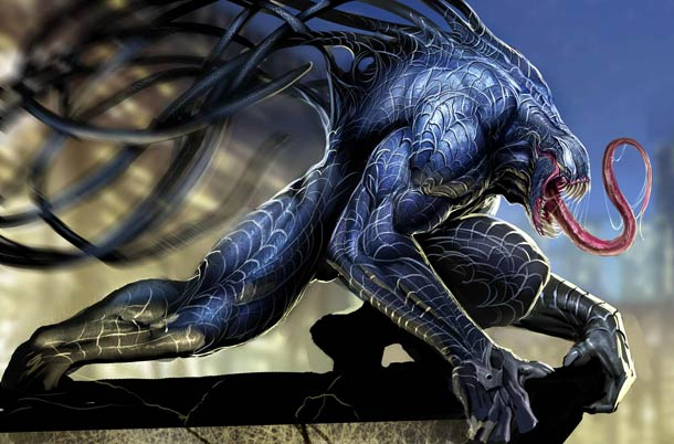 スパイダーマンの人気キャラ ヴェノムのイラスト VENOM \u2013 24 BEAUTIFUL FAN ART OF SPIDERMAN\u0027S NEMESIS