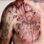 chest shoulder - tattoos ideas