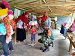 Babinsa Gulurejo Bantu Pelayanan Kesehatan Balita dan Lansia