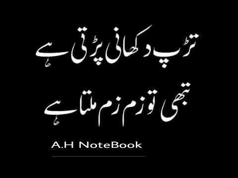 Unsaid Words | Sad Urdu Inspiring Poetry | Heart Touching Poetry 7