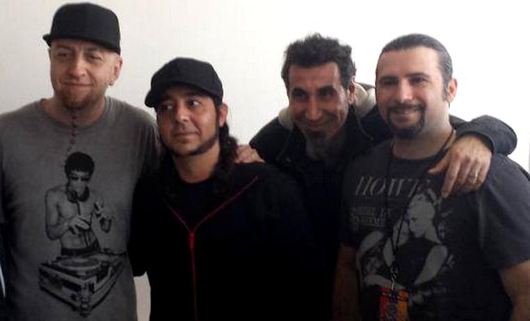 Guitarra autografada pelo System of a Down será leiloada no Rock in Rio