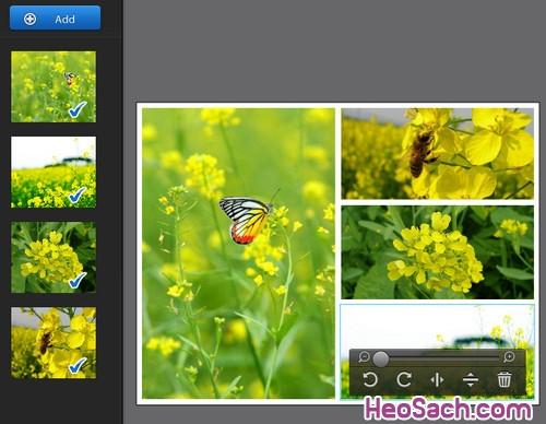 Hình 6 - Hướng dẫn cách sử dụng phần mềm ghép ảnh Fotor