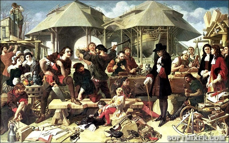 Теории о подмене Петра Великого