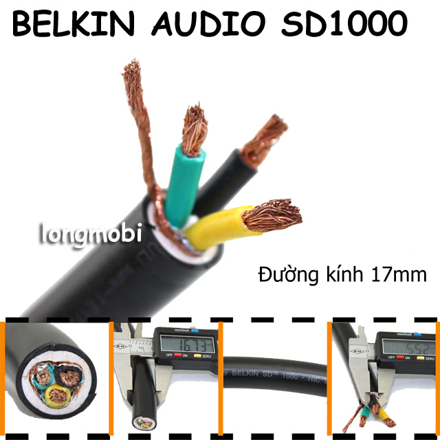 day nguon audio belkin sd1000