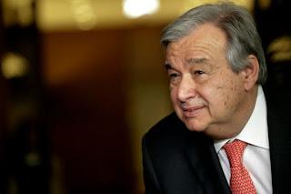 ONU: le Portugais Guterres en tête pour devenir secrétaire général