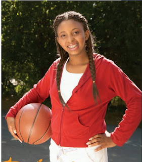 TEEN WITH A BASKET BALL
