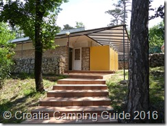 Croatia Camping Guide - Ostro Washrooms