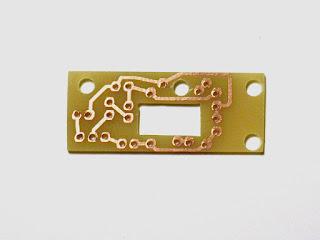 circuito terminado y mecanizado