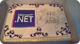 Happy 15th Birthday .NET!