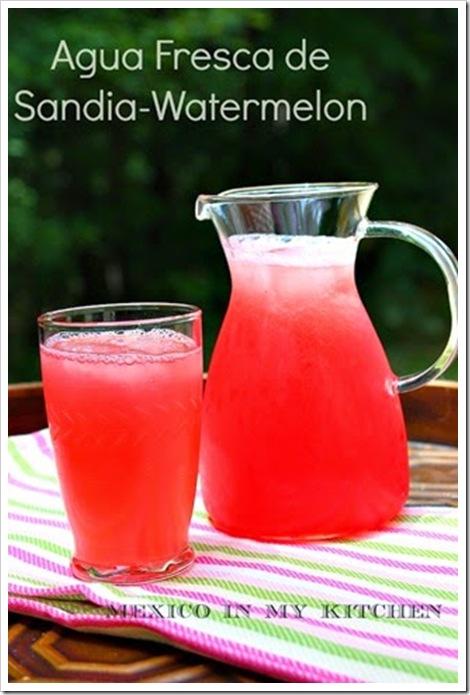 Watermelon Agua Fresca | Aguas Frescas