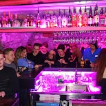 Hotel Post: Broken Bar Nightclub in Zermatt, Valais, Switzerland