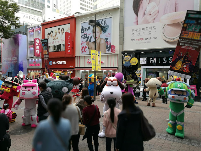 Seoul Korean Beauty Brands Retail Stores in Myeongdong