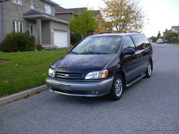 1999 toyota sienna minivan specifications pictures prices. Black Bedroom Furniture Sets. Home Design Ideas