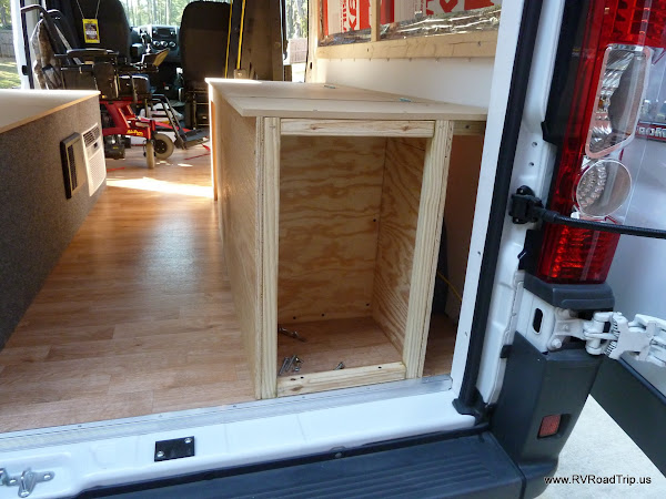 ProMaster Conversion Propane LP Compartment