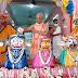 মেছেদা ইসকনের উদ্যোগে আয়োজিত হল জগন্নাথ দেবের স্নান যাত্রা