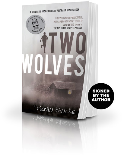 Buy a copy of Two Wolves, signed by the author Tristan Bancks