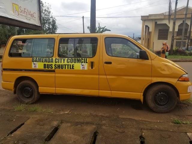 As restriction on bikes persist, Bamenda City council provides shuttles