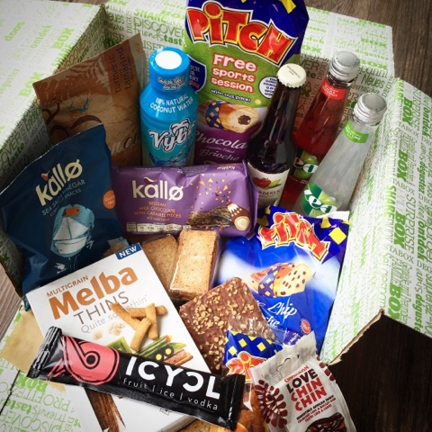 Degustabox - Foodie Quine Reviews - Foodie Parcels in the Post - June 2015