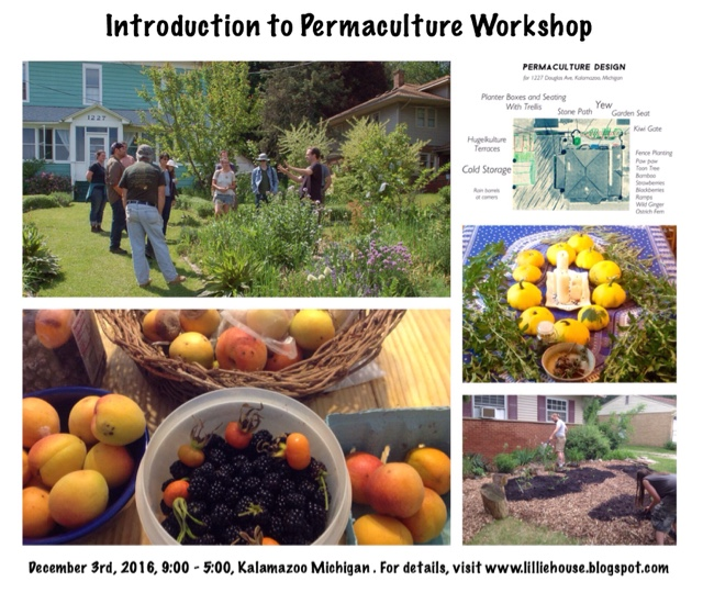 An Introduction To The House: Lillie House : Introduction To Permaculture Workshop In