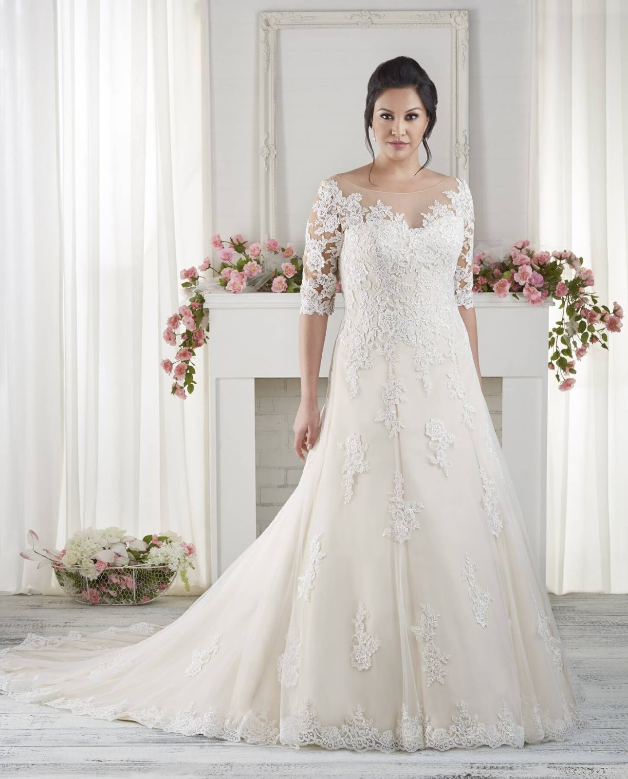 d01ee4ef2932 The Best Wedding Dresses for Fat Arms! | Wedding Dresses - Wedding Gown  Designs For