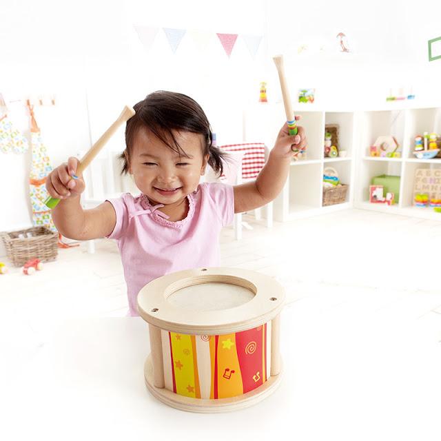 Bộ trống cho bé Hape Little Drummer E0303A