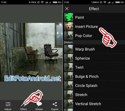 Cara Edit Foto Melayang