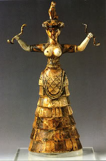Snake Goddess Of Crete, Gods And Goddesses 7