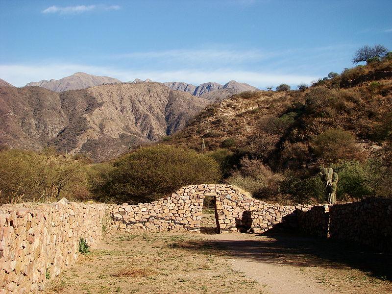 Vorspanische Ruinen