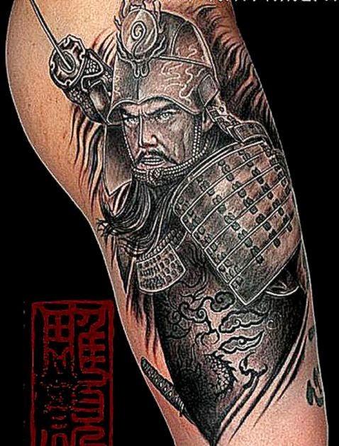 25 Samurai Tattoo Design Ideas