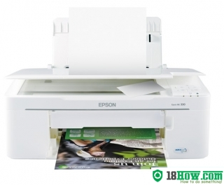 How to Reset Epson ME-330 inkjet printer – Reset flashing lights problem