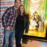 WWW.ENTSIMAGES.COM -    Joe McFadden and Maggie Dunne at     The Wizard of Oz in IMAX 3D - charity film screening at The Empire Cinema London September 14th 2014Chairty film screening of classic film in aid of children's charity Variety.                                                 Photo Mobis Photos/OIC 0203 174 1069