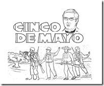 Batalla Puebla Para Niños Dibujos Colorear