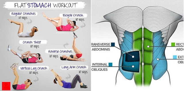 6 Pack Abs With Six No-Crunch Ab Exercises