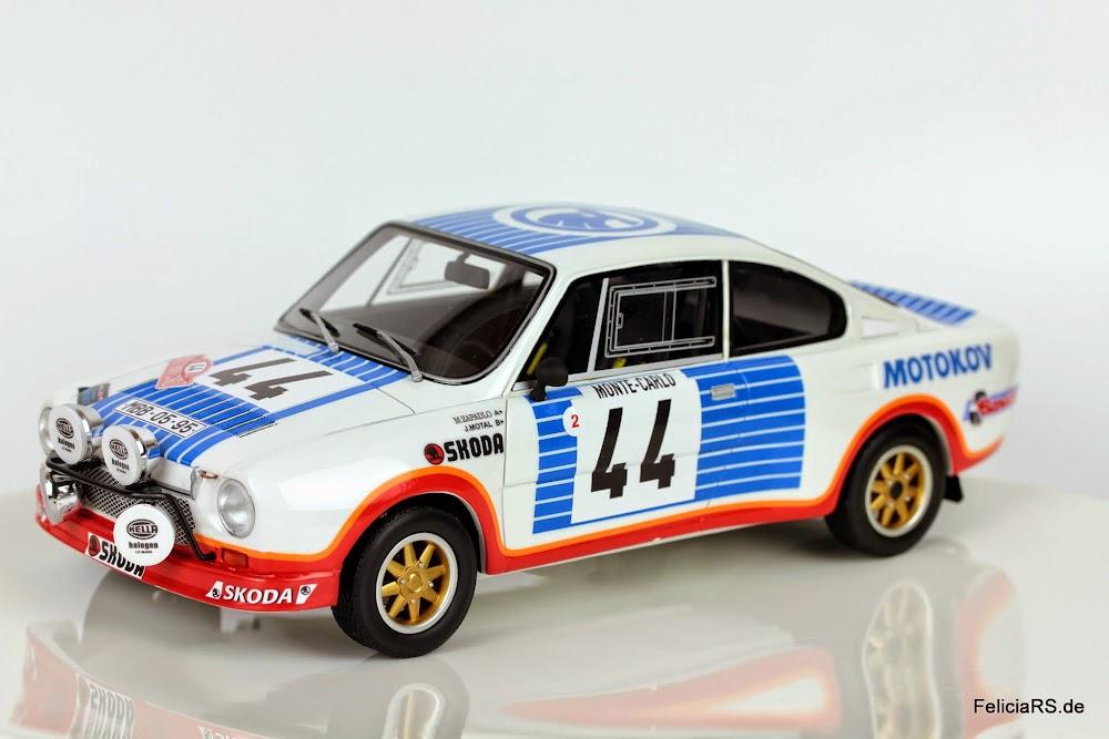 Škoda 130RS 1977 Rallye Monte Carlo 44 FOXtoys/AirDESIGN