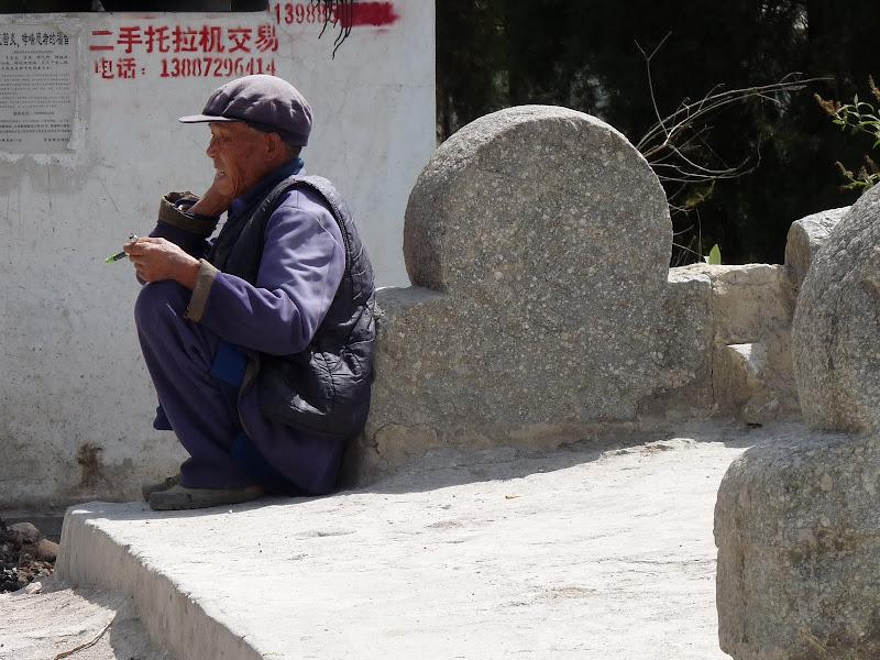 Chine. Yunnan Dali .En vélo vers le lac ERHAI - P1170738.JPG